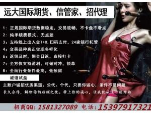 香港国际期货招商全新信管家软件独立后台不卡盘不滑点公代