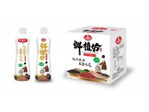 五谷杂粮饮料贴牌1L方瓶饮品生产厂家