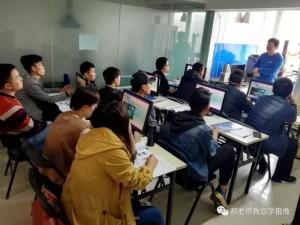 北京海达影视摄像培训基地郝老师授课