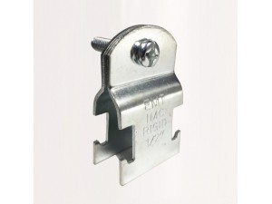 厂家直销铁制C型钢用P型管夹 C型钢专用碳钢P型管夹