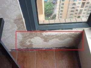 亚运村飘窗防水 阳台漏水维修 窗户边往屋里渗水怎么办