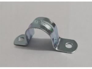 23.4mm电镀锌碳钢材质,铁制U型管夹 ,φ23mm骑马卡