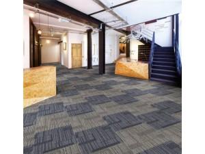 恒拓达办公室地毯丙纶方块拼接写字楼工程满铺会议室商用地毯