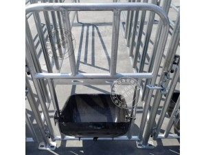 热镀定位栏单体固定栏猪用养猪设备亨特畜牧全国发货