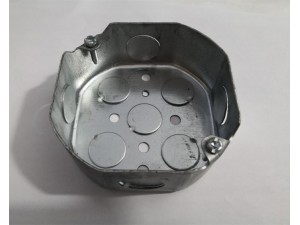 杭州萧山少量现货供应美标八角金属接线盒54151