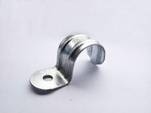 杭州萧山25mm镀锌板电镀锌单边管夹 BS25mm单边夹