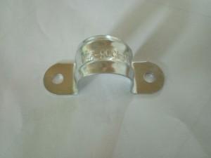 杭州萧山供应双筋骑马夹φ25mm,BS双螺栓管夹