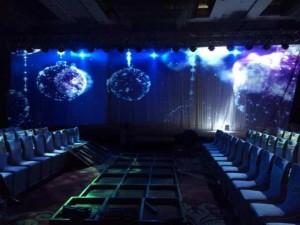 舞台设备灯光音响LED显示屏幕布租赁