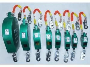 收缩式渐进流动钢丝绳速差防坠器安全器供应