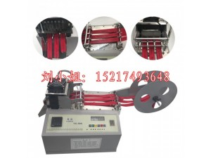 厂家直供腰带割断机裁切设备 全自动电脑橡皮绳断带机