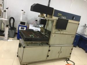 转让二手CO2激光打标机,打标范围300-1200可调