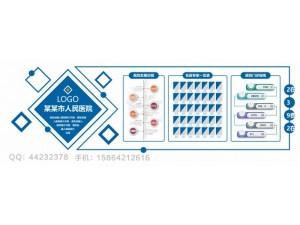 青岛李沧区医院形象墙文化墙设计制作安装