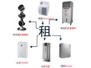 江浙沪商用空气净化器租赁,大空间快速净化