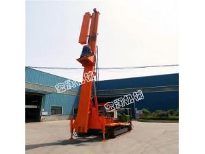 新款10米履带式长螺旋钻机 长螺旋钻孔灌注桩