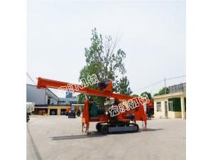 供应18米长螺旋桩机 济宁宏润机械