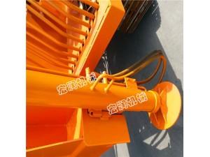 车载式地基打桩机 折叠臂长螺旋钻孔机