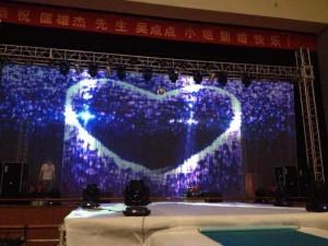庆典展会舞台设备灯光音响投影机租赁