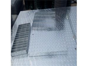 厂家直销钢格板、格栅板、地沟盖板、树篦子、踏步板