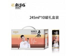 五谷杂粮饮料招商245ml10罐礼盒装饮品便利店加盟