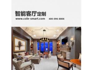 公寓智能客厅装修设计安装