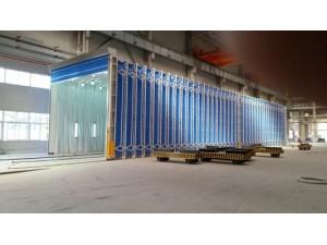 伸缩移动喷漆房 活性炭光氧废气处理设备 新迈环保专业设计