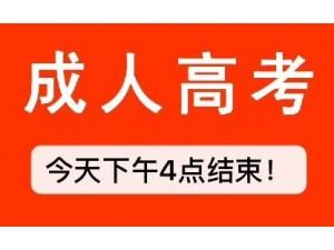 2019年邯郸成人高考报名截止今年下午4点