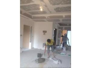 浦东北蔡写字楼墙面粉刷.家庭墙面修补.二手房翻新刮腻子