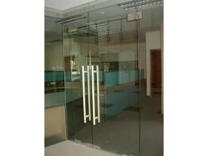 南京无框玻璃门维修