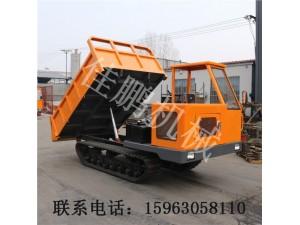 济宁厂家直销农用工程履带车jp-L5自卸履带式拖拉机