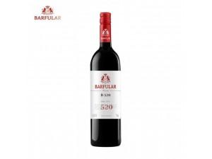 巴富乐B520 西拉干红葡萄酒 南澳进口葡萄酒 商务招待用酒