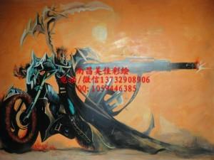 樟树外墙彩绘墙绘手绘专业公司