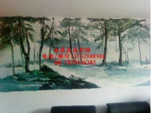 南康墙绘手绘专业公司
