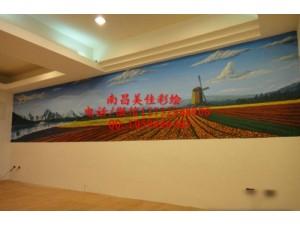 丰城外墙彩绘墙绘手绘专业公司