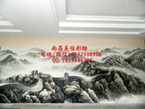 抚州墙面彩绘涂鸦专业公司