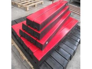 橡胶缓冲条 落料口缓冲条 煤矿钢厂专用