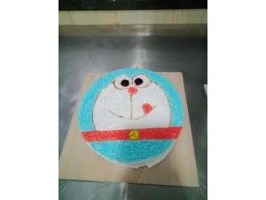 赛西维烘焙学校分享凝雪一般--椰香奶冻糕