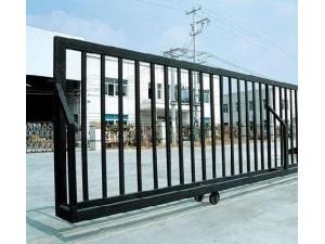 河西区铁艺围栏护栏安装铁艺大门平移门加工焊接铝艺门