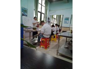 赛西维烘焙学校分享 烫面金丝大饼