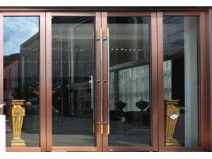 塘沽区安装定做大型商场玻璃门钢化玻璃门肯德基玻璃门