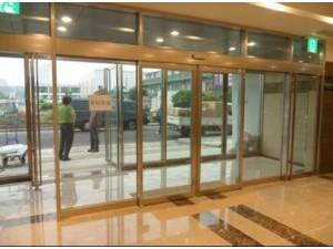 红桥区专业安装钢化玻璃门更换感应玻璃门肯德基玻璃门