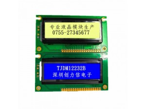 12232液晶模块LCD图形点阵液晶屏厂家直供专业生产