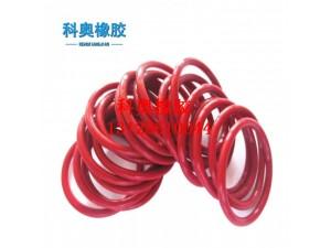 耐高温环保红色硅胶O型圈 高压锅密封圈 下水道密封圈