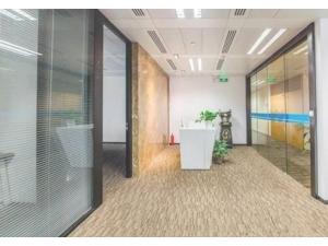 长新大厦520平精装修带家具户型方正格局灵活紧邻地铁