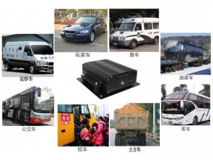 工程车车载监控,4G车载录像机 SD卡录像机
