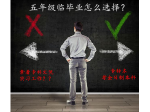 江苏懿本五年制专转本培训班,关于未来的职业道路