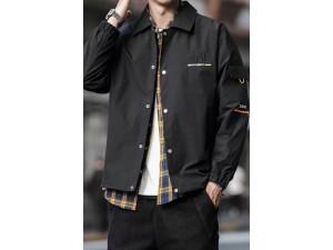 韩版潮流男装棒球夹克衣服