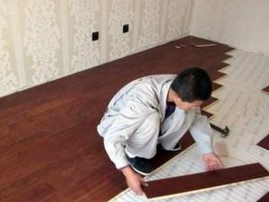 铺贴木地板安装技术培训