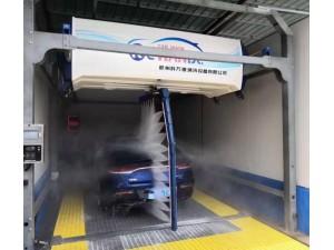 加油站洗车设备,360环绕全自动无接触高压洗车机