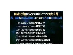 影视招商电影影视大区丰厚佣金诚邀合作电影业迅猛发展