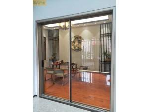 墨高门窗供应16极窄边框推拉门使视野宽广